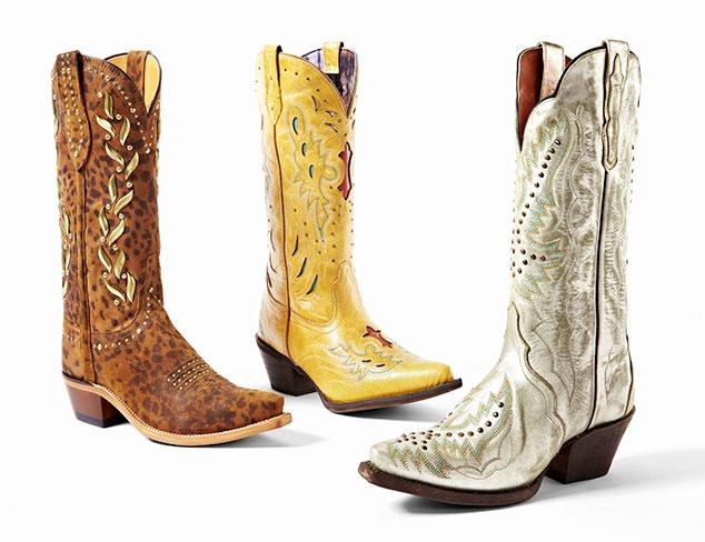 Southwest Chic: Boots at MYHABIT