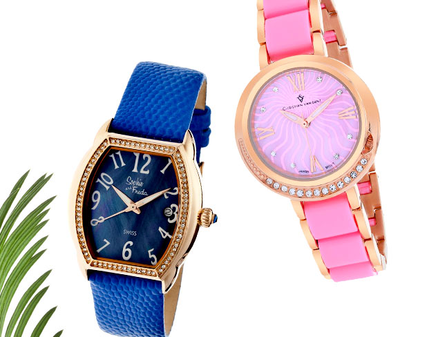 Time to Show Off: Colorful Watches at MYHABIT