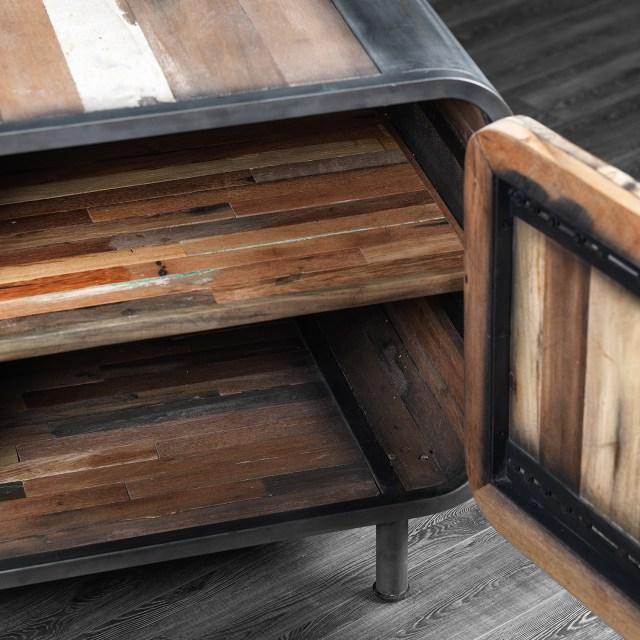 Artemano Two Shelves + One Door TV Unit