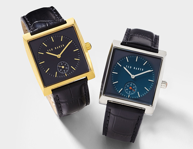 Watches feat. Ted Baker at MYHABIT