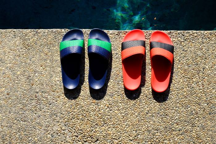 adidas by Raf Simons Two Tone Adilette Slides