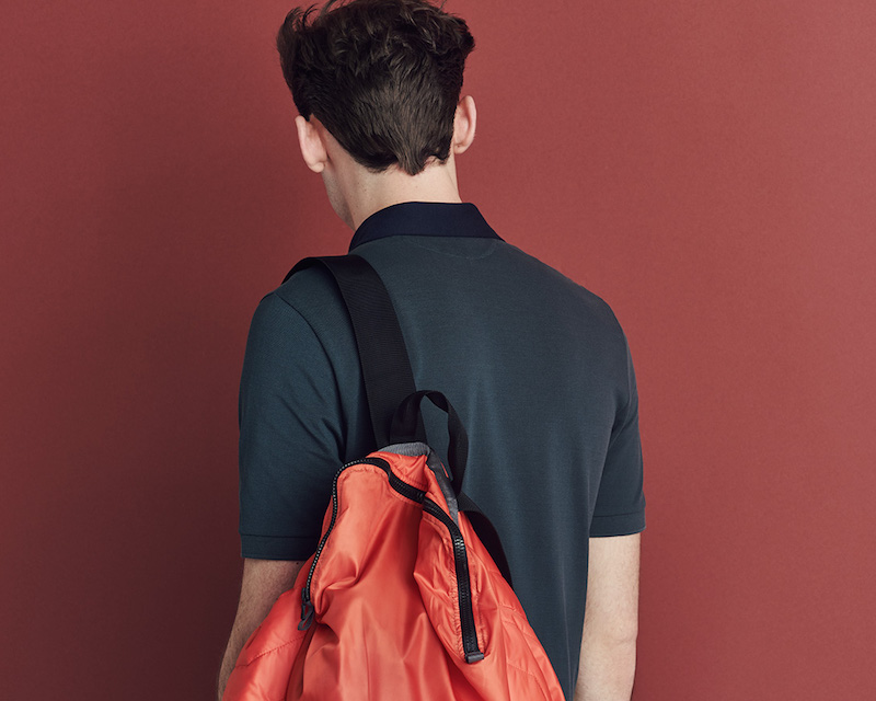 Christopher Raeburn Contrast Packaway Backpack