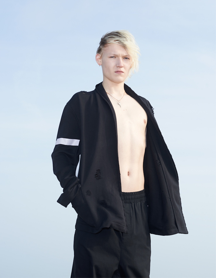 Damir Doma Black Drawstring Trousers