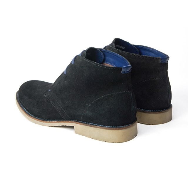 Redfoot Desert Boot in Black