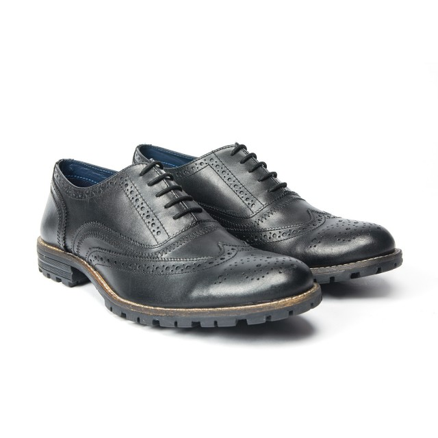Redfoot Edenfield Brogue in Black