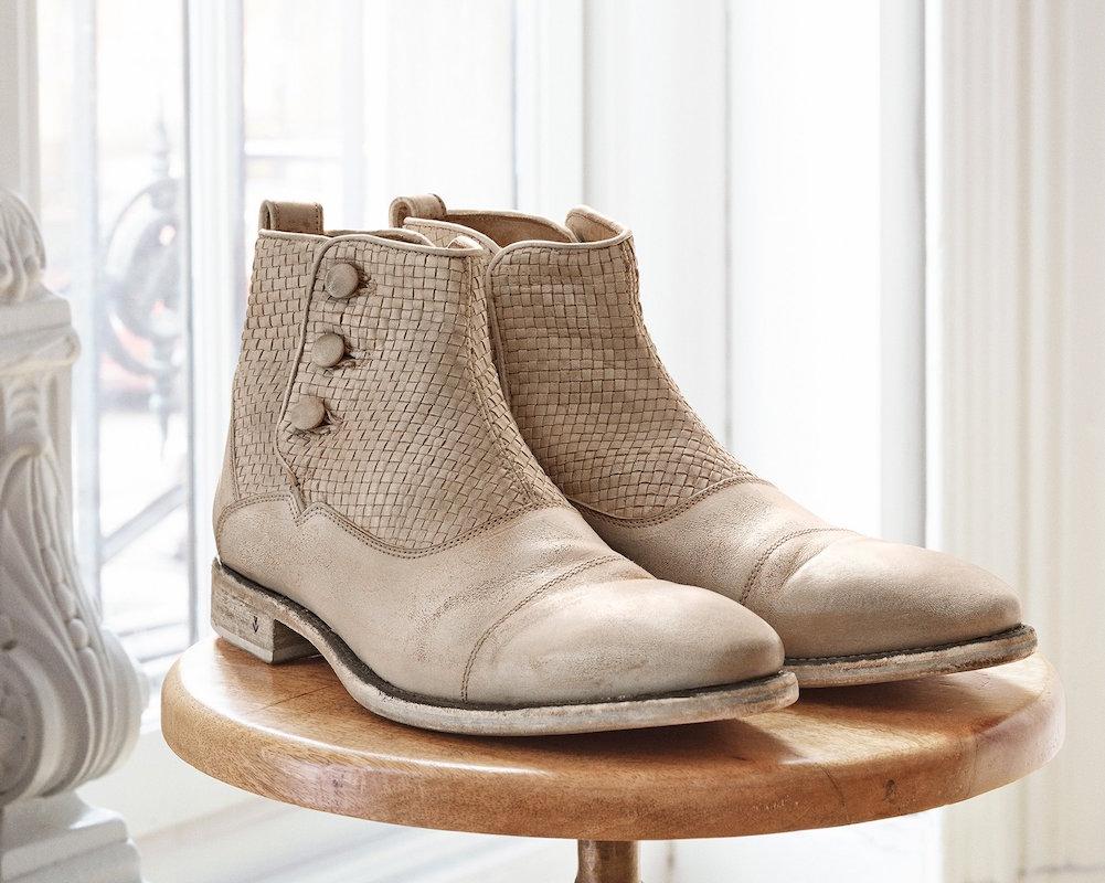 John Varvatos Fleetwood Button Boot