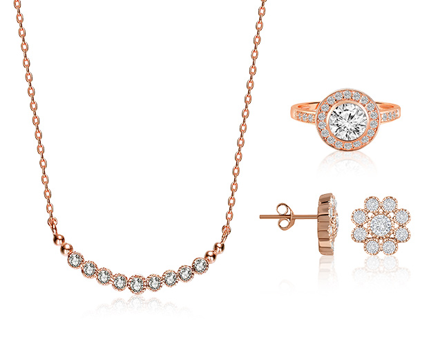 80 Off Megan Walford Jewelry in Rose (dropship VI) at MYHABIT