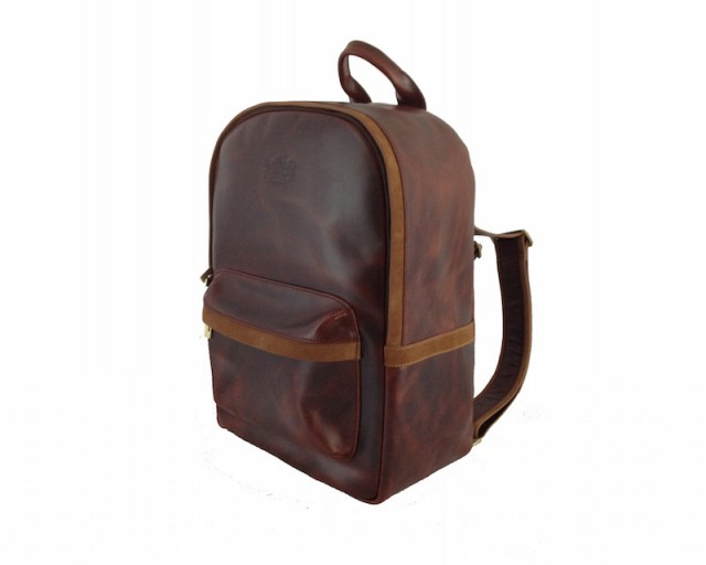 Avallone Handmade Antique Leather Backpack_1