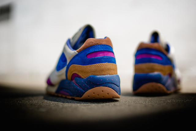 Bodega x Saucony G9 Shadow 6 Pattern Recognition Light Tan Blue_4