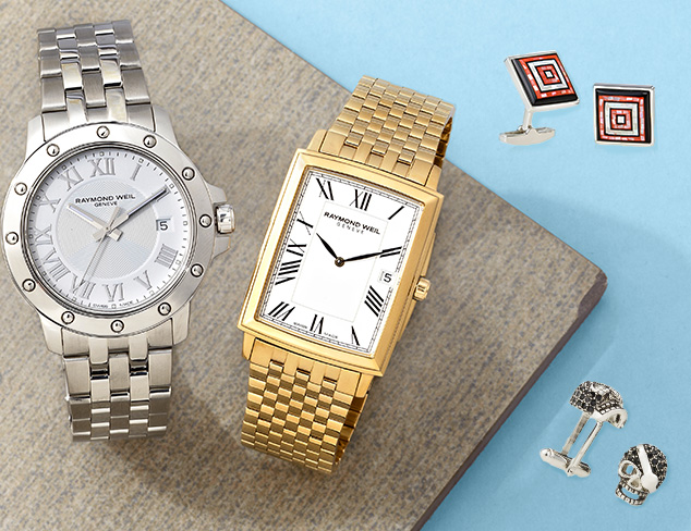 Cufflinks & Watches feat. Rotenier at MYHABIT