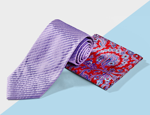 Designer Ties & Pocket Squares feat. Daniel Dolce at MYHABIT