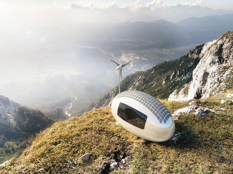 Ecocapsule: Low-Energy Portable House