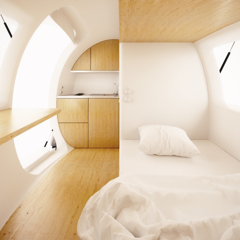 Ecocapsule Low-Energy Portable House_4