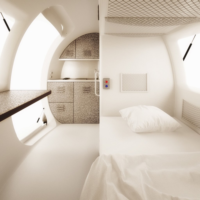 Ecocapsule Low-Energy Portable House_5