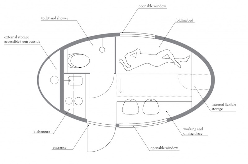 Ecocapsule Low-Energy Portable House_6