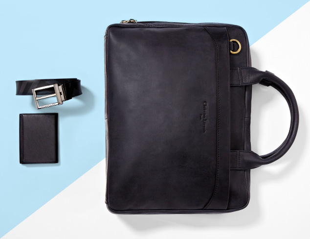 Handsome Details: Bags, Wallets & More at MYHABIT