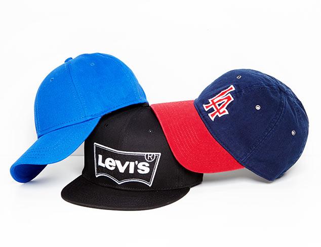 Hats feat. Levi's at MYHABIT