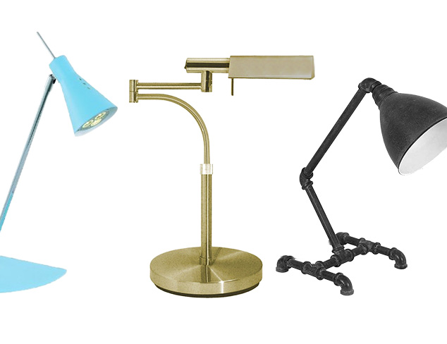 Lighting to Work By: Desk & Task Lamps at MYHABIT