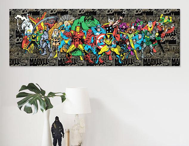 Marvel Artwork at MYHABIT