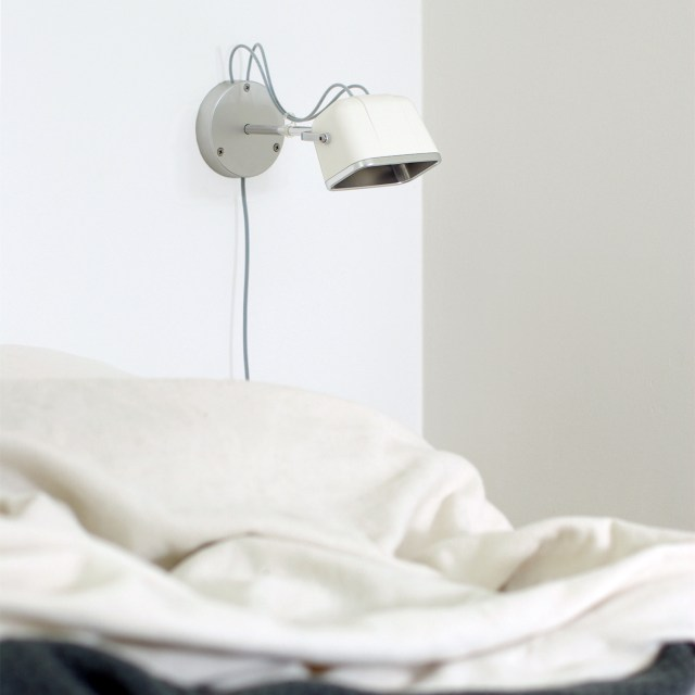 SWAB Design Mob Wall Lamp in White & White Cord