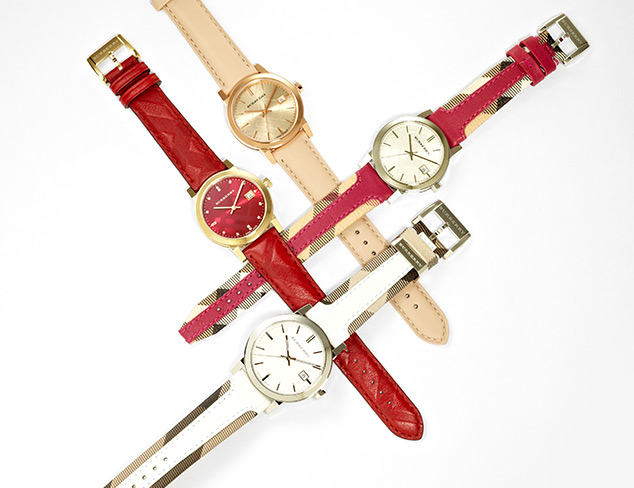 New Arrivals: Burberry Watches at MYHABIT