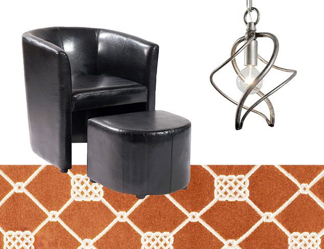 Pre-Summer Steals Furniture, Rugs & Lighting at MYHABIT