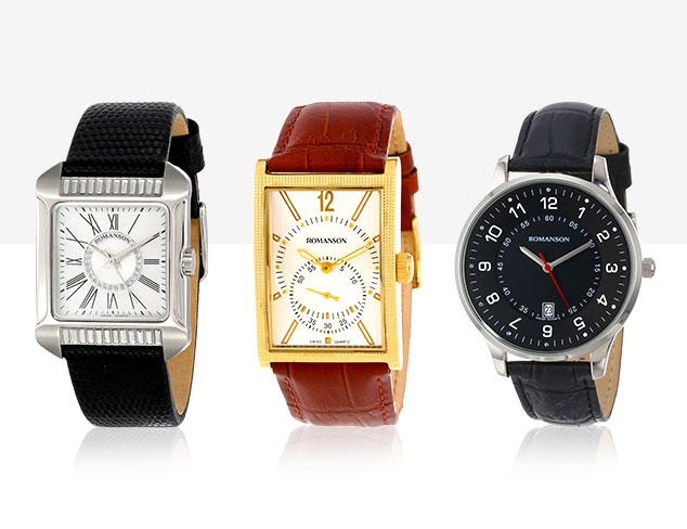 Romanson Watches at MYHABIT