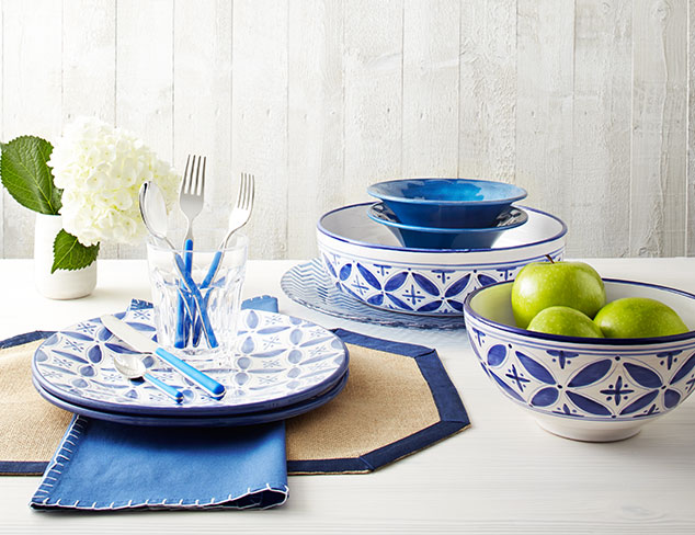 Shades of Blue Serveware & More at MYHABIT