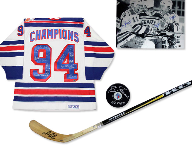 Steiner Sports Hockey Memorabilia at MYHABIT