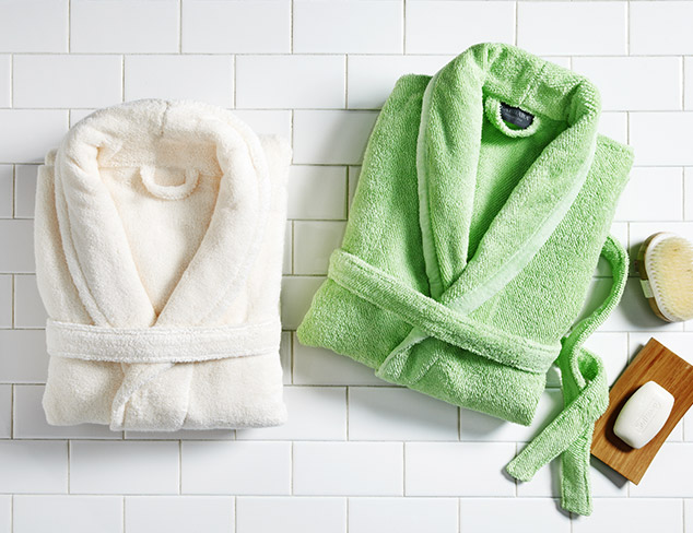 Stock Up Towels, Robes & More at MYHABIT