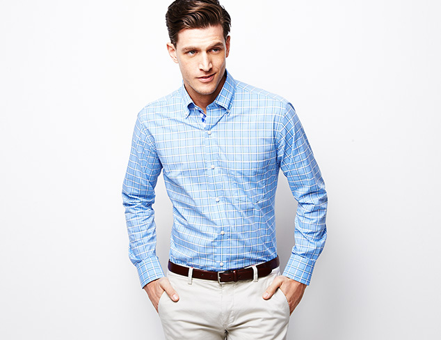 TailorByrd Shirting at MYHABIT