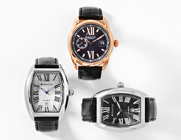 Watches feat. Heritor Automatic at MYHABIT