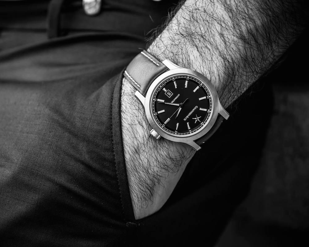 G.Gagnebin&Cie Karaktero Swiss Dress Watch