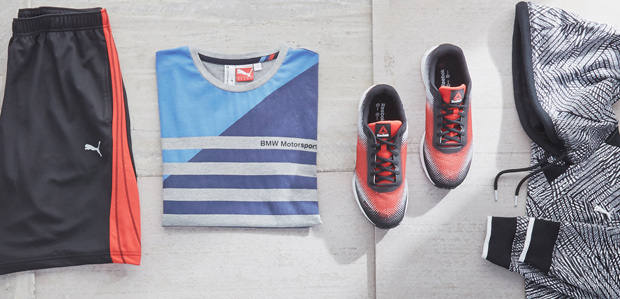 Power Your Workout: Men's Sneakers & Clothing at Rue La La