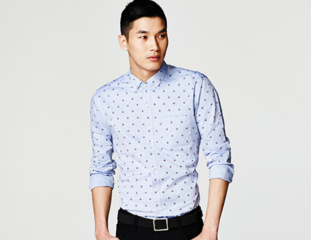 7 Diamonds & More Casual Button Ups at MYHABIT