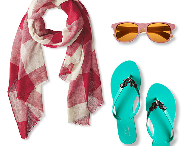 Beach Bound Accessories at MYHABIT