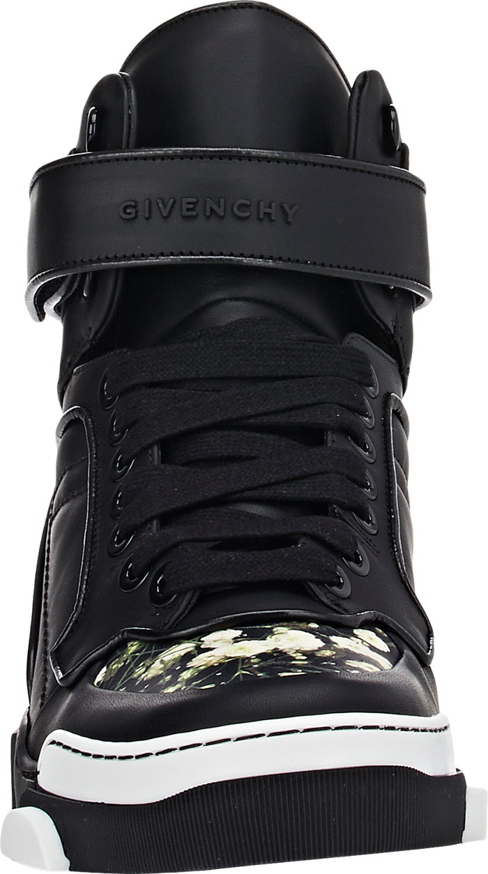 Givenchy Tyson Floral High-Top Sneakers_3