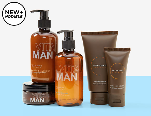 New Grooming Greats feat. Vitaman at MYHABIT