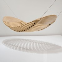 Wooden Hammock by Adam Cornish Design