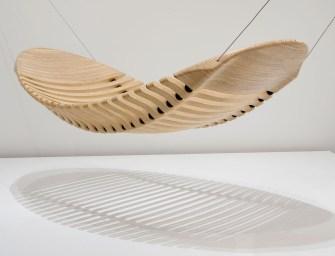 Wooden Hammock by Adam Cornish Design