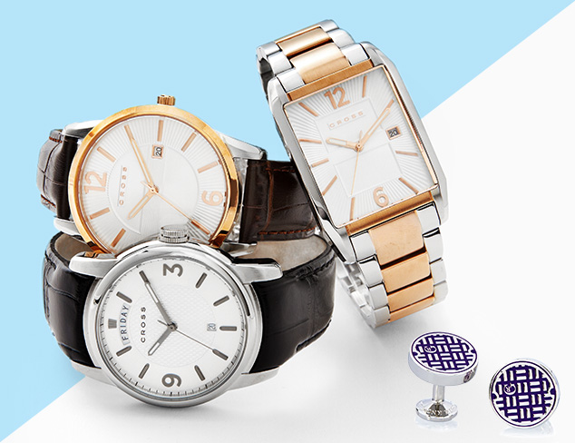 All in the Wrist Cufflinks & Watches at MYHABIT