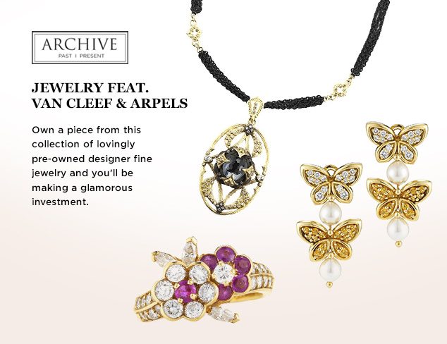 ARCHIVE Jewelry feat. Van Cleef & Arpels at MYHABIT