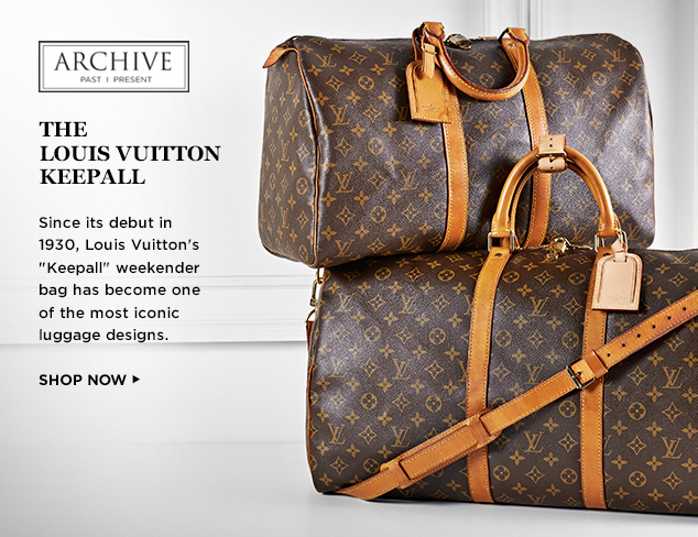 ARCHIVE The Louis Vuitton Keepall at MYHABIT