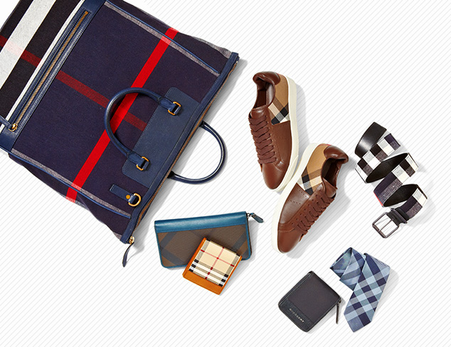Burberry Accessories & Shoes at MYHABIT