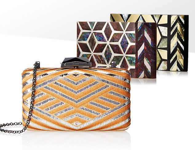 Complete the Look Party Clutches at MYHABIT