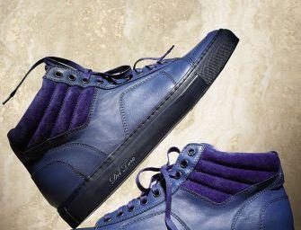 Del Toro Leather Boxing Sneakers