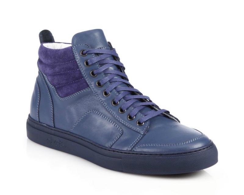 Del Toro Leather Boxing Sneakers_1