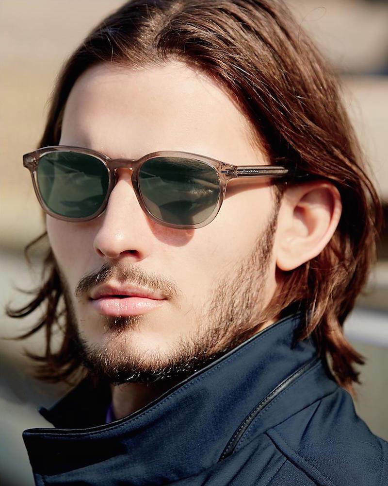 Ermenegildo Zegna 52MM Round Sunglasses