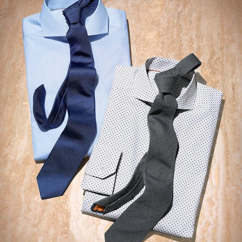 Eton of Sweden Regular-Fit Printed Dress Shirt