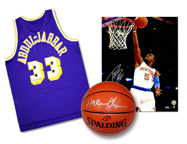 It's Finals Time Basketball Memorabilia at MYHABIT
